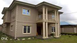 A modern 6 bedroom duplex at gowon estate for sale