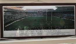 Stransky drop goal photo of '95 Rugby World Cup Final