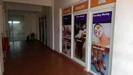 INVEST! INVEST!! Well maintained generating income beauty parlor on sa