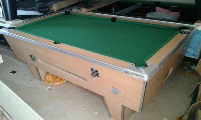 A brand new wooden top pool table Pangani - image 3