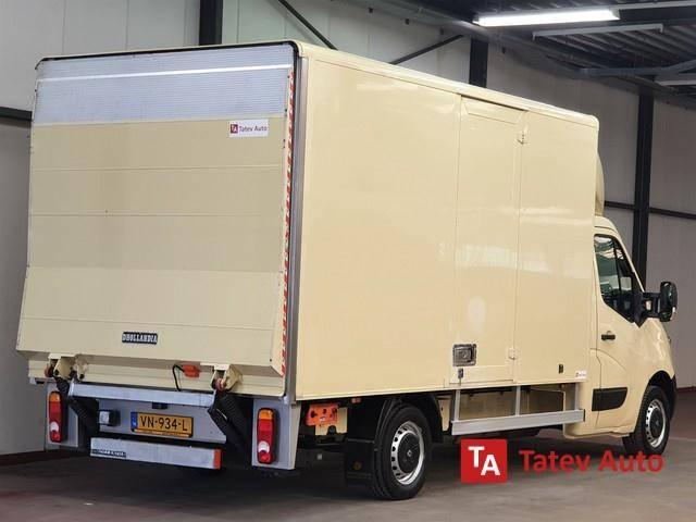 Renault Master 2.3 BAKWAGEN MEUBELBAK HOGE LAADKLEP EN ZIJ - 2015