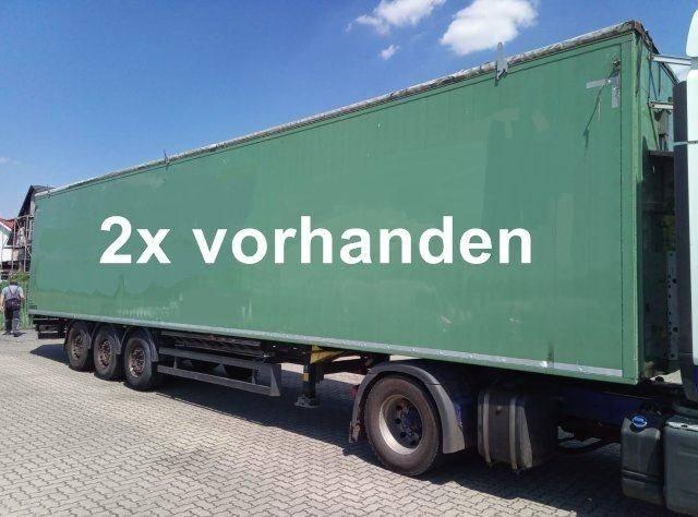 Schmitz Cargobull SW 24 SL G SW 24 SL G Walkingfloor ca. 92m?, 14x Vorhanden! - 2011