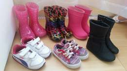 Toddler girl's shoes size 3 & 4