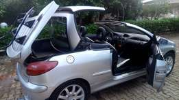 Peugeot 206 coup.