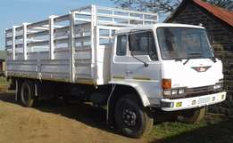 1990 Hino 14.177 Lorry + Trailer for sale in good condition
