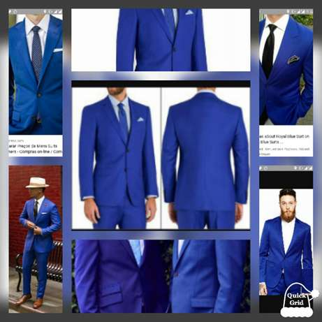 Royal blue wedding and official men suits. FREE DELIVERY. Nairobi CBD - image 1