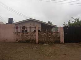 3bedroom flat with 2units of 2bedroom as BQ for sale at Sector F Lugbe