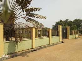 Four bedroom duplex on two full plots of land in Ikorodu