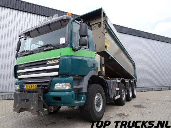 Ginaf X 4446 TS, 8x8 Kipper, Tipper - Euro 5 - Manual - 2008