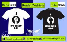 Resist T-shirts For Sale!!!