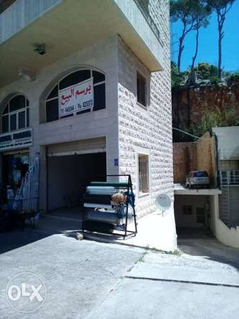 Shop or garage for sale main road ainab-aley chek bank accept