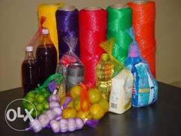 Packaging nets for all packing needs at lowest prices
