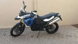 BMW F800GS low mileage, perfect