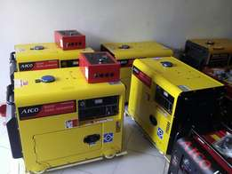 5 kva diesel generator with canopy