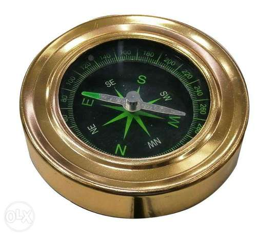 Brand New Basic Metal Compass