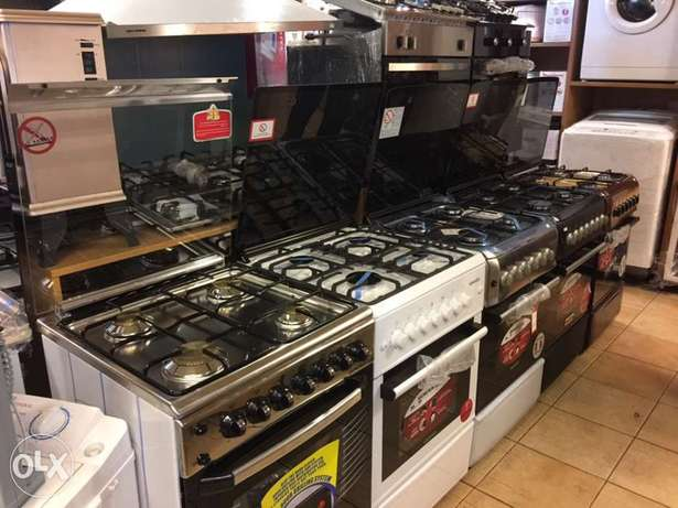 gas oven 4 eyes with one year warranty