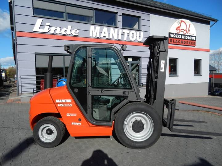 Manitou MSI30G Triplex , Side shift - 2009