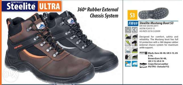 Steelite Mustang Boot S3  Safety Shoes
