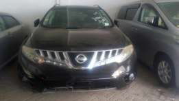 Nissan Murano with roof rails