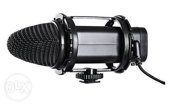 BOYA BY-V02 Compact Stereo Condenser Video Microphone