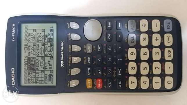 Casio FX9750G2 USB graphic calculator