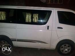 Brand new Toyota hiace bus for hire