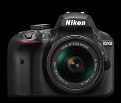 Brand New Nikon camera  D3400 Shop at Kenyatta Avenue With Warranty!!