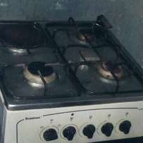 Scanfrost cooking gas and oven