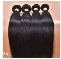 9A Peruvian human hair (3 Bundles) 300 grams with