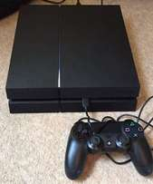 PS4 with 500gb, one controller and watch dog 2Clean like new