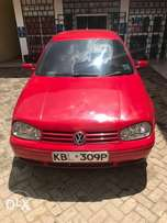 Clean VW Golf for sale.