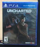 Uncharted lost legacy ps4 new sealed