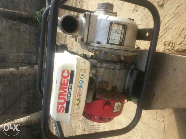 Petrol water pumping machine for lease Uvwie - image 1