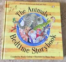 The Animals' Bedtime Story Book - Great Large Hardback