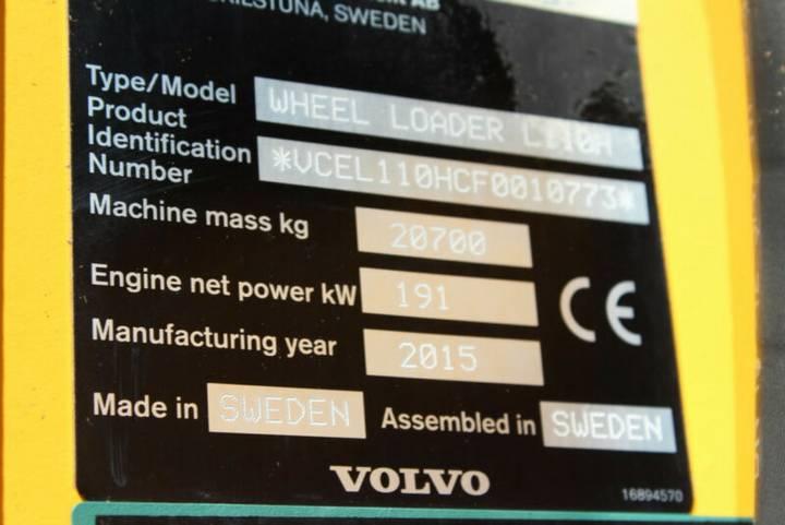 Volvo L 110 H - SW, 3. Kreis, Umkehrlüfter, Rf. 100% - 2015 - image 11