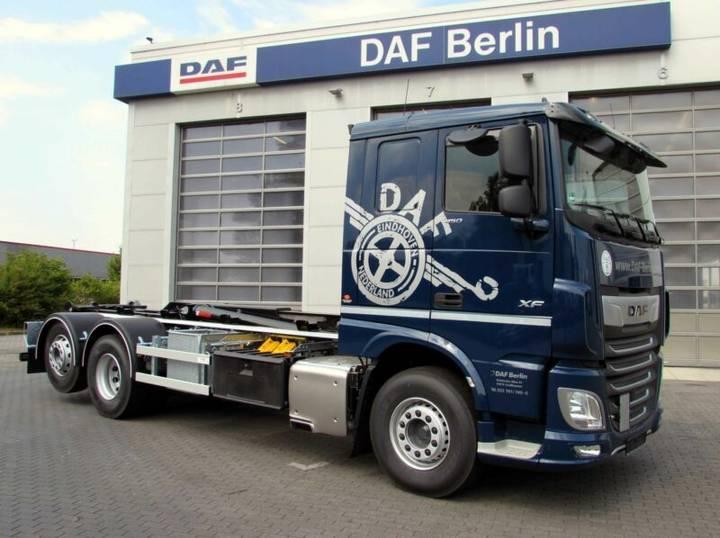 DAF XF 450 FAN 6x2 Comfort Cab, HIAB Multilift - 2019