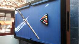 Pool table with Marble top.