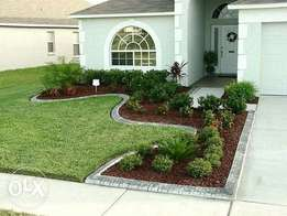 For landscaping job we do clean job with affordable price