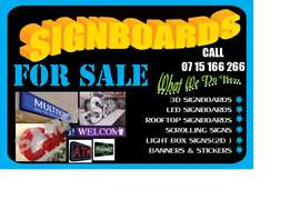 Signboards on sale..place your order now