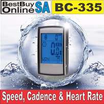 BC-335 Wireless Cycle Computer with Speed/Cadence/ Heart Rate Monitor