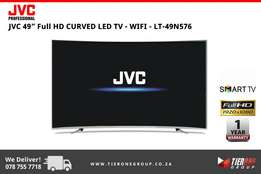"JVC 49"" Full HD Curved TV"