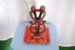 Decor/gift sculpture from special stone
