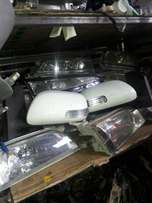 Side mirrors lights and other parts available