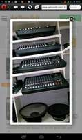 mixers, powered mixers and amplifiers