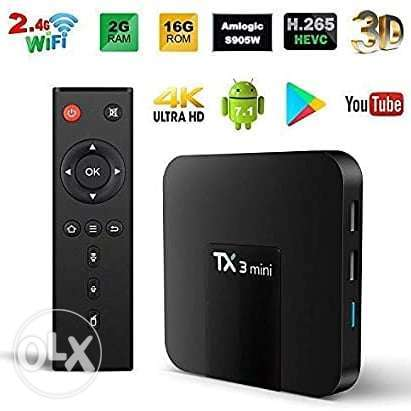 Smart Box Android 4K YouTube 5000 channel