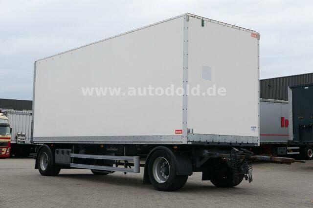 Lecitrailer Koffer Rolltor Scheibenbremsen BWP Eco L: 7,70 m - 2012