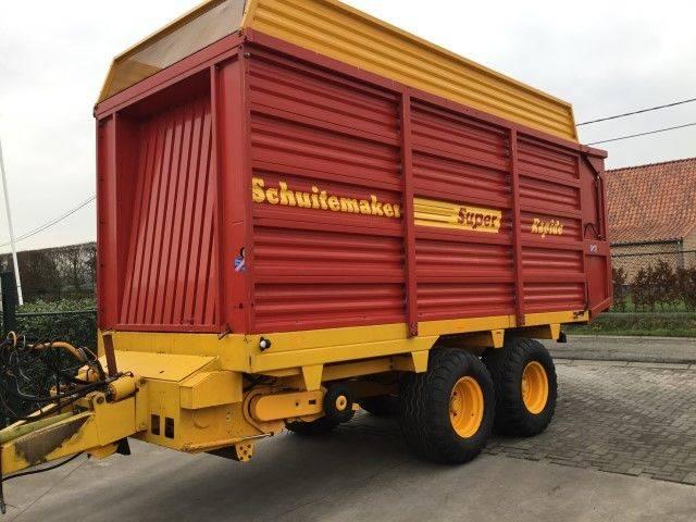 Schuitemaker Rapide 125 S tractor trailer - 1996