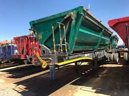 2010 Afrit Interlink Side Tipper Trailer