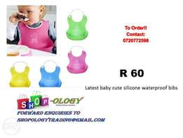 Bibs silicone waterproof