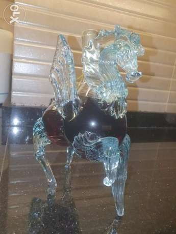 Bottle horse shape made in russia for decoration bar&salon